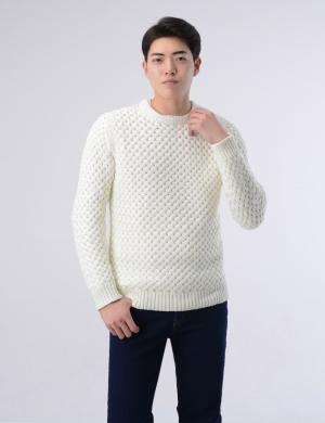 NKS833 TheLees Men Slim Fit Pin Stripe Long Sleeve Seersucker Cotton Shirts
